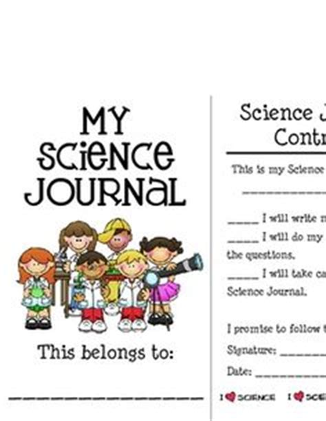 printable science journal cover 2nd grade science on pinterest states of matter anchor