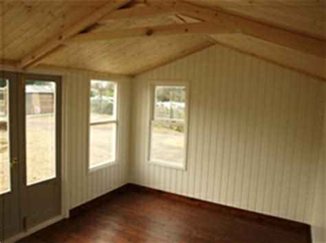 Shed Lining Paper by Crane Garden Buildings