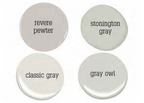 Benjamin moore gray owl paint color