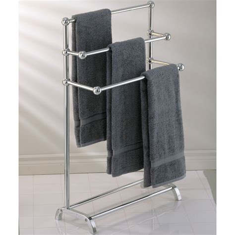 Bath towel stand free standing towel racks towel valet bathroom towel