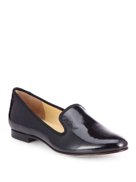 cole haan slippers for cole haan sabrina patent leather slippers in black