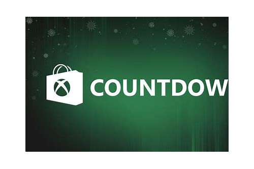 xbox countdown daily deals list