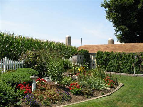 amish garden amish garden pinterest