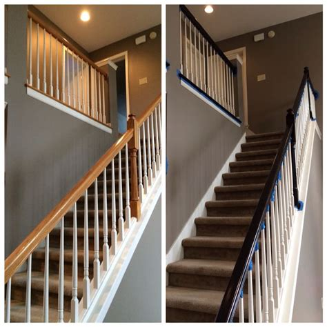 best paint for stair banisters pinterest the world s catalog of ideas