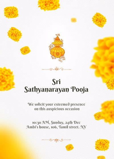 satyanarayan puja invitation card template invitation cards for satyanarayan pooja invitationjpg