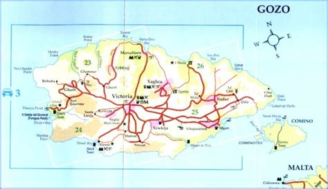 printable map ta malta map detailed street road map malta holidays by