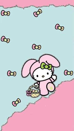 free hello kitty easter wallpaper hello kitty easter wallpaper a wallpaper com