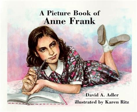 biography of anne frank in brief a picture book of anne frank a mighty girl