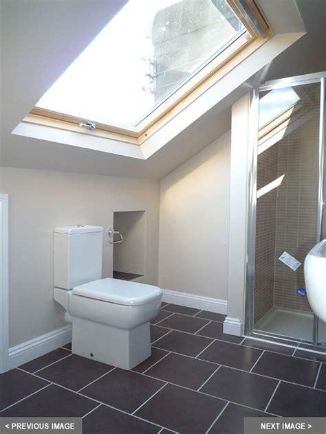 loft en suite nice open feeling   velux window
