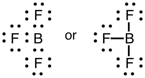 lewis dot diagram of boron exceptions to the octet rule boundless chemistry
