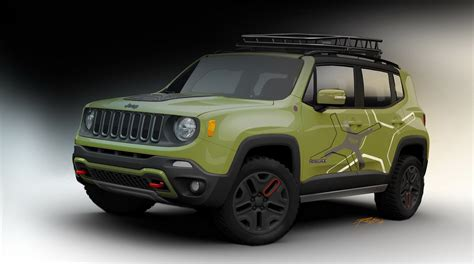 trailhawk jeep green 2015 jeep renegade off road mopar equipped picture