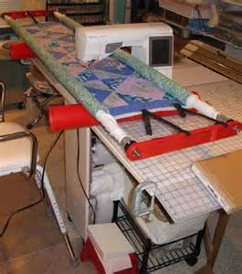 simple diy machine quilting frame clever ideas