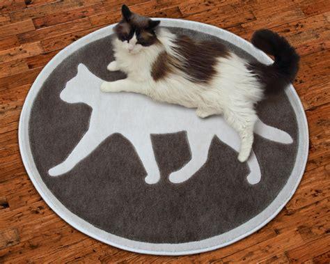 petrugscom introduces  area rugs   feline theme