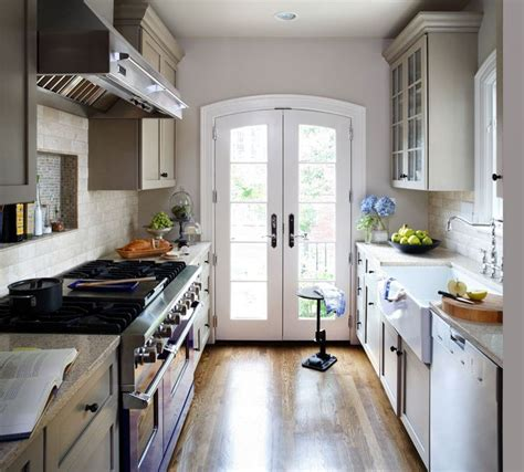 narrow galley kitchen ideas 98 small narrow kitchen remodel best 25 narrow