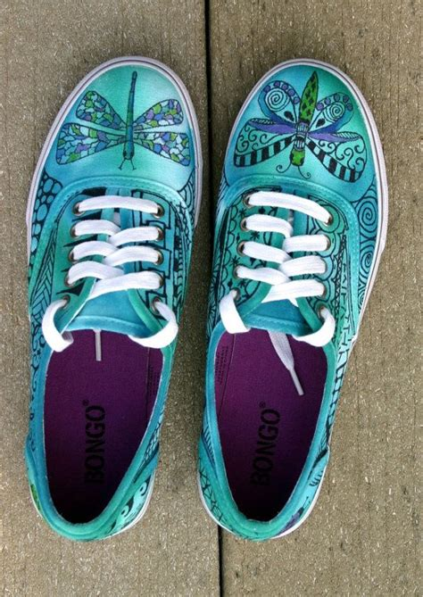 decorar zapatos deportivos zentangle zapatillas zapatos zapatillas por
