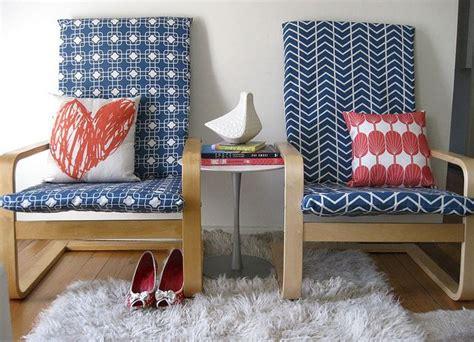 diy ikea poang chair cover chair nursery pinterest
