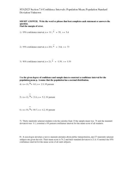 Standard Deviation Worksheet by Standard Deviation Worksheet Answers Lesupercoin