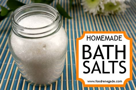 Detox Bath Recipes Without Epsom Salt by Bath Salts A Relaxing Bath Salts Recipe Food Renegade