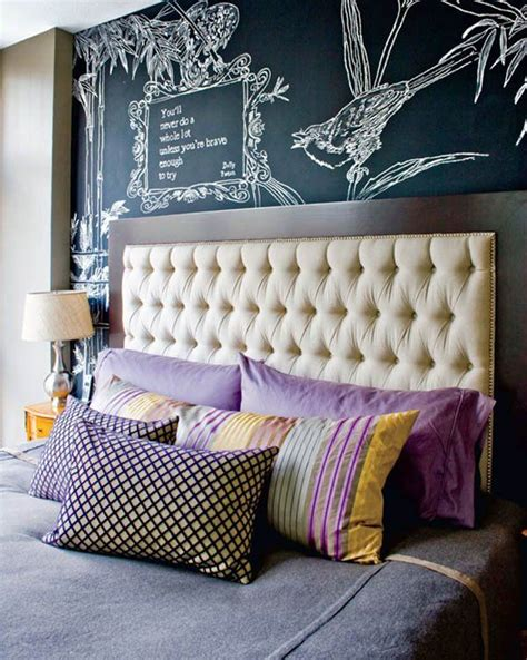chalkboard headboard how to creatively use chalkboard paint around the house