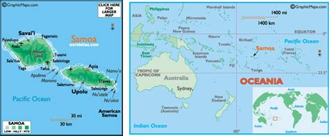 samoa on a world map samoa map and information map of samoa facts figures