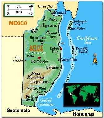 map of belize central america belize real estate sundancer properties san pedro