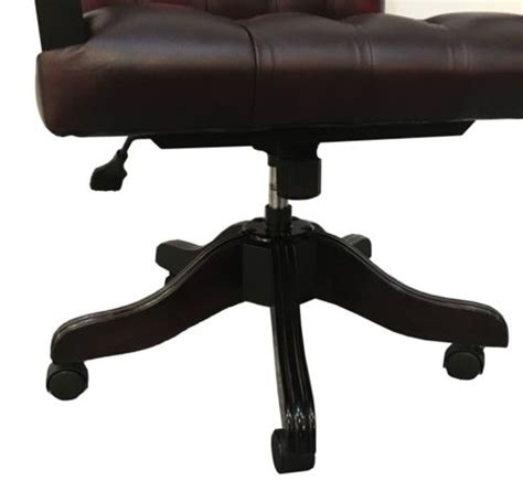 Chesterfield Gainsborough High Back Office Swivel Chair Chesterfield Swivel Chair