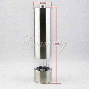 Kitchen Grinders And Mills Electric Stainless Steel Kitchen Tool Salt Pepper Mill