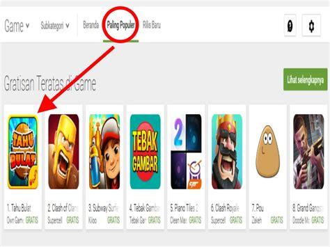 membuat game android jadi offline game tahu bulat geser coc sebagai game terpopuler android