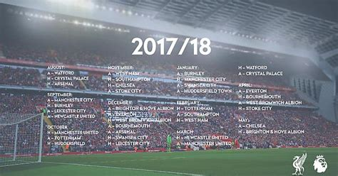 stoke city quiz book 2017 18 edition books 2017 18 pl schedule wallpaper oc liverpoolfc