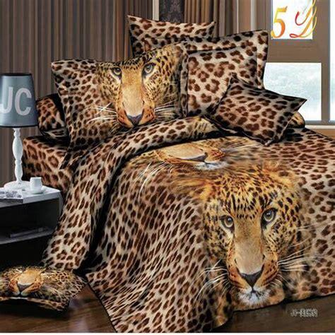 Leopard Print Duvet Set King Size by Designer 3d Animal Duvet Cover Leopard Print Bedding Sets