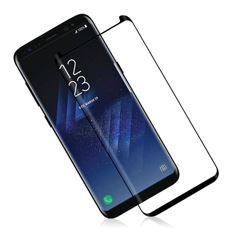 Sparepart Samsung S8 samsung galaxy s8 tempered glass 3d curved mobile parts