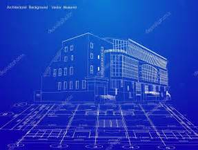 blueprint of houses architecture blueprint of a house vector stock vector