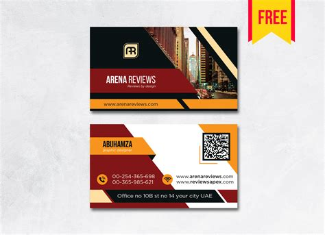 building business card design psd