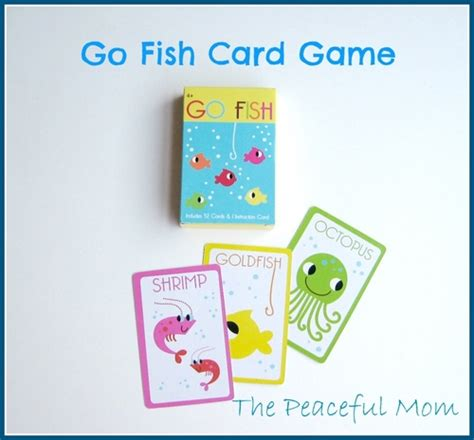 printable animal go fish cards road trip activity bag 5 ocean theme the peaceful mom