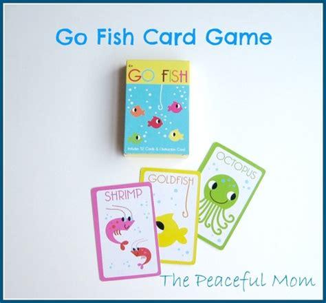 printable go fish card games road trip activity bag 5 ocean theme the peaceful mom