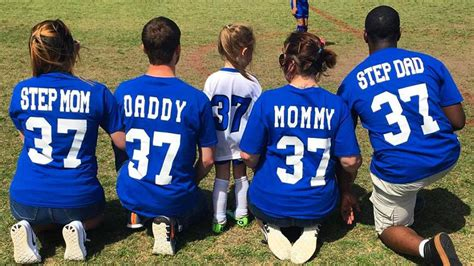 Kitchen Cabinets New Jersey separated couple wins co parenting at daughter s soccer