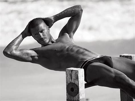 Beckham Strips For Armani by David Beckham Strips For Armani Again Style News