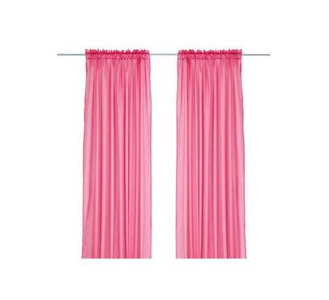 ikea pink curtains ikea vivan curtains drapes hot pink 2 panels cerise bright