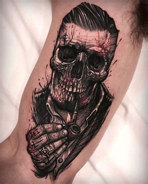 small gang tattoos skull tattoos on tattoos skull tattoos
