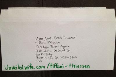encouraging letter to wife tiffani thiessen