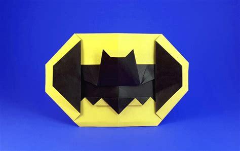 Origami Symbol For - batman symbol montroll gilad s origami page