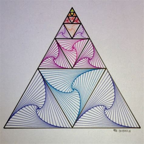 triangle pattern algebra pin by sam raffaelli on psychedelic art pinterest