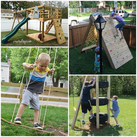backyard climber the best backyard diy projects for your outdoor play space