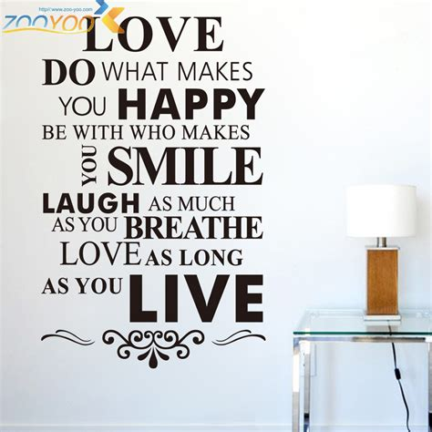 Baby Room Wall Decorations Stickers online buy wholesale happy life quotes from china happy
