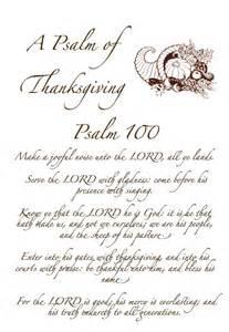 psalm of thanksgiving kjv psalm 100