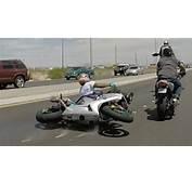 Motorcycle ACCIDENT Street Bike Riding Highchair Wheelie