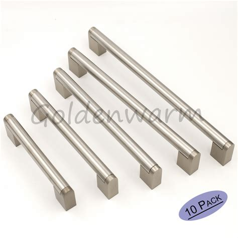 brushed stainless steel cabinet pulls online get cheap brushed steel knobs aliexpress com