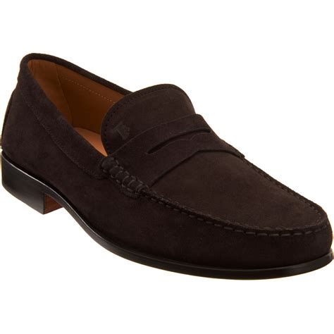 tods loafer tod s citta loafer in brown for lyst