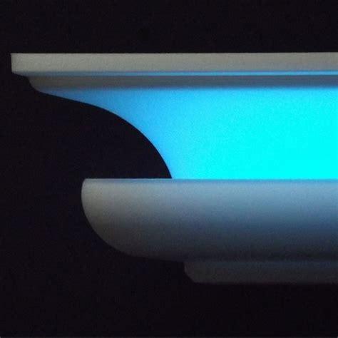styropor leiste wand led profil indirekte beleuchtung