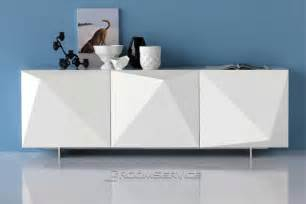 Kitchen Credenza Hutch Kayak Modern Sideboard Buffet Contemporary Dining Room